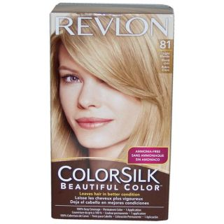 Revlon Colorsilk Beautiful Color ?Light Blonde #81 Hair Color