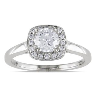 Miadora 14k White Gold 1ct TDW Diamond Ring (G H,I1 I2)
