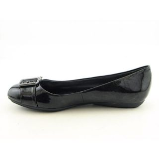 Eienne Aigner Womens Zena Black Flas & Oxfords (Size 9)