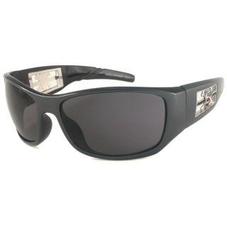 Harley Davidson Mens HDS584 Wrap Sunglasses