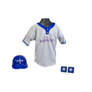 Franklin Sports Kids MLB Texas Rangers Team Uniform Set
