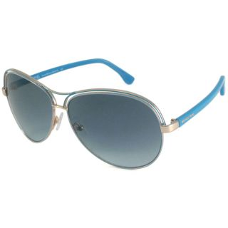 Michael Michael Kors Womens M2461S Santa Monica Aviator Sunglasses