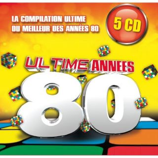 ULTIME ANNEES 80   Compilation (5 CD)   Achat CD COMPILATION pas cher