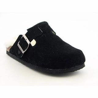 Bearpaw Girls Jasmine Black Clogs Medium Shoes