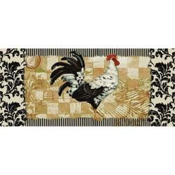 Bergerac Rooster Three piece Kitchen Rug Set