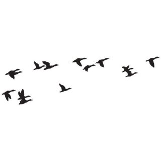 Art Impressions Flying Ducks Wilderness Series Cling Rubber Stamp