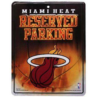 NBA Miami Heat Parking Sign