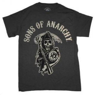 Sons of Anarchy Reaper TV Biker Club T Shirt Clothing