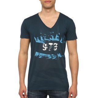 DIESEL T Shirt Off Homme Bleu   Achat / Vente T SHIRT DIESELT Shirt