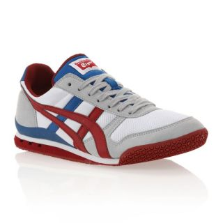 ONITSUKA TIGER Baskets Ultimate 81 Mixte Blanc, gris, bleu et rouge