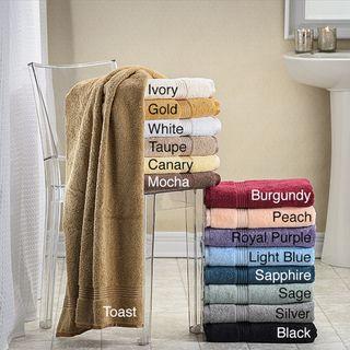 Luxurious Egyptian Cotton Bath Sheets (Set of 2)