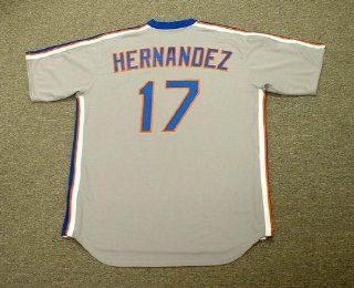 KEITH HERNANDEZ New York Mets 1987 Majestic Cooperstown