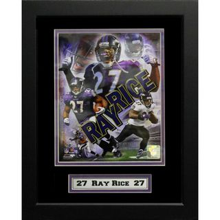 Ray Rice Baltimore Ravens 11x14 inch Deluxe Frame