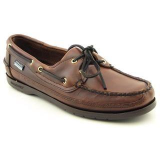 Sebago Mens Schooner Leather Casual Shoes Wide