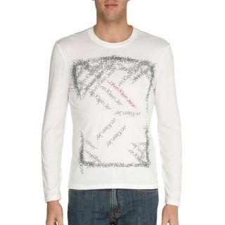 CALVIN KLEIN JEANS T Shirt Homme Blanc Blanc   Achat / Vente T SHIRT