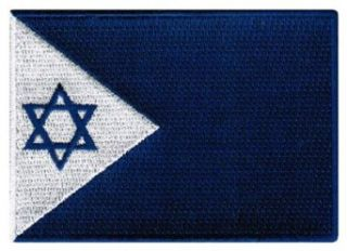 Israel Navy Jack Patch Israeli Military Flag Embroidered