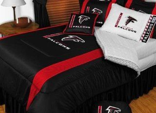 Atlanta Falcons NFL Bedding   Sidelines Comforter and