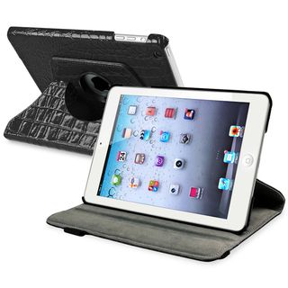 BasAcc Black 360 degree Swivel Leather Case for Apple® iPad Mini