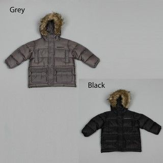 Sean John Toddler Boys Faux fur Hooded Coat FINAL SALE