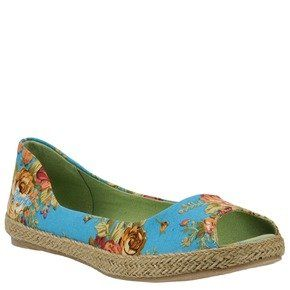 Blowfish Sandbox Turquoise Emma Floral 10 Womens Shoes Shoes