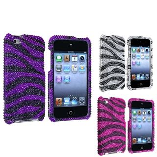 BasAcc Rhinestone Protector Cases for Apple iPod Touch Generation 4