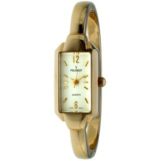Peugeot Womens Vintage Goldtone Bangle Watch