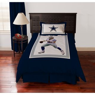 Dallas Cowboys Tony Romo 4 piece Comforter Set