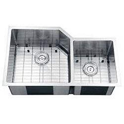 Ruvati 16 gauge Stainless Steel 33 inch Double Bowl Undermount Kitchen