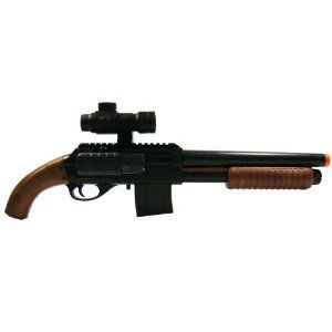 Soft Air Mossberg Mad Max Spring Shotgun (Black/Brown