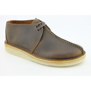 Clarks Mens Desert Trek Leather Boots