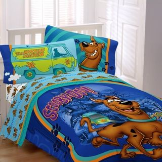 Scooby Doo A Scooby Mystery 4 piece Bed in a Bag with Sheet Set