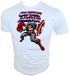 Vintage 1975 Captain America Original Avenger Marvel T
