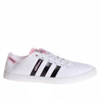 Adidas Trainers Shoes Womens Vlneo Bball Lo W White Shoes