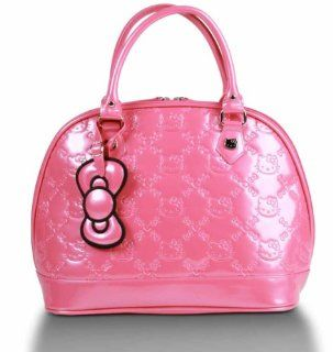 Pink Hello Kitty Embossed Handbag Shoes