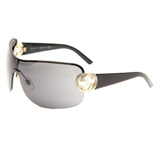Gucci Womens GG 2890 BKS Black/Gold Sunglasses