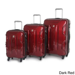 International Traveller Victoria 3 piece Hardside Spinner Luggage
