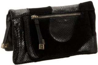 Corso Como Pinyon Clutch,Black,one size: Shoes