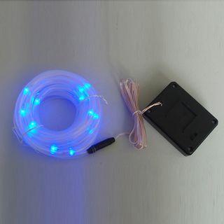 Solar Blue LED Rope Garden Light