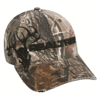 Team Realtree Camo Deer Skull Adjustable Hat