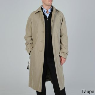 Cianni Cellini Mens Renny Full length Belted Raincoat