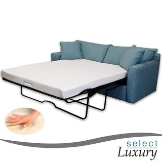 Select Luxury New Life 4.5 inch Twin size Memory Foam Sofa Bed Sleeper