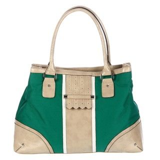 London Fog Campbell Canvas Tote Bag