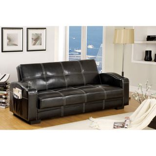 Max Multi functional Futon with Storage and Cup Holder