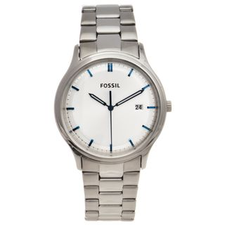 Fossil Mens Stainless Steel Ansel Watch