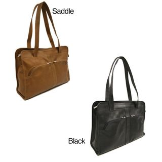 Piel Leather Womens Laptop Tote Bag
