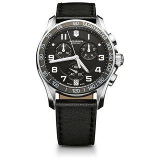 Swiss Army Mens Chrono Classic Black Dial Watch