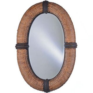 Bombay Collection Wicker frame Mirror