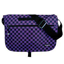 Yak Pak Checkerboard Messenger Bag: Clothing