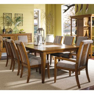 Toluca Lake 9 piece Dining Set with Upholstered Chairs