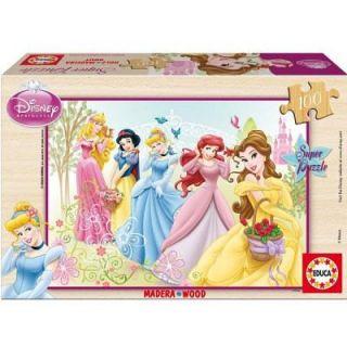 100 pcs en bois  Princesses Disney   Achat / Vente PUZZLE Puzzle 100